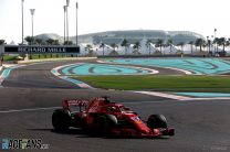 Charles Leclerc, Ferrari, Yas Marina
