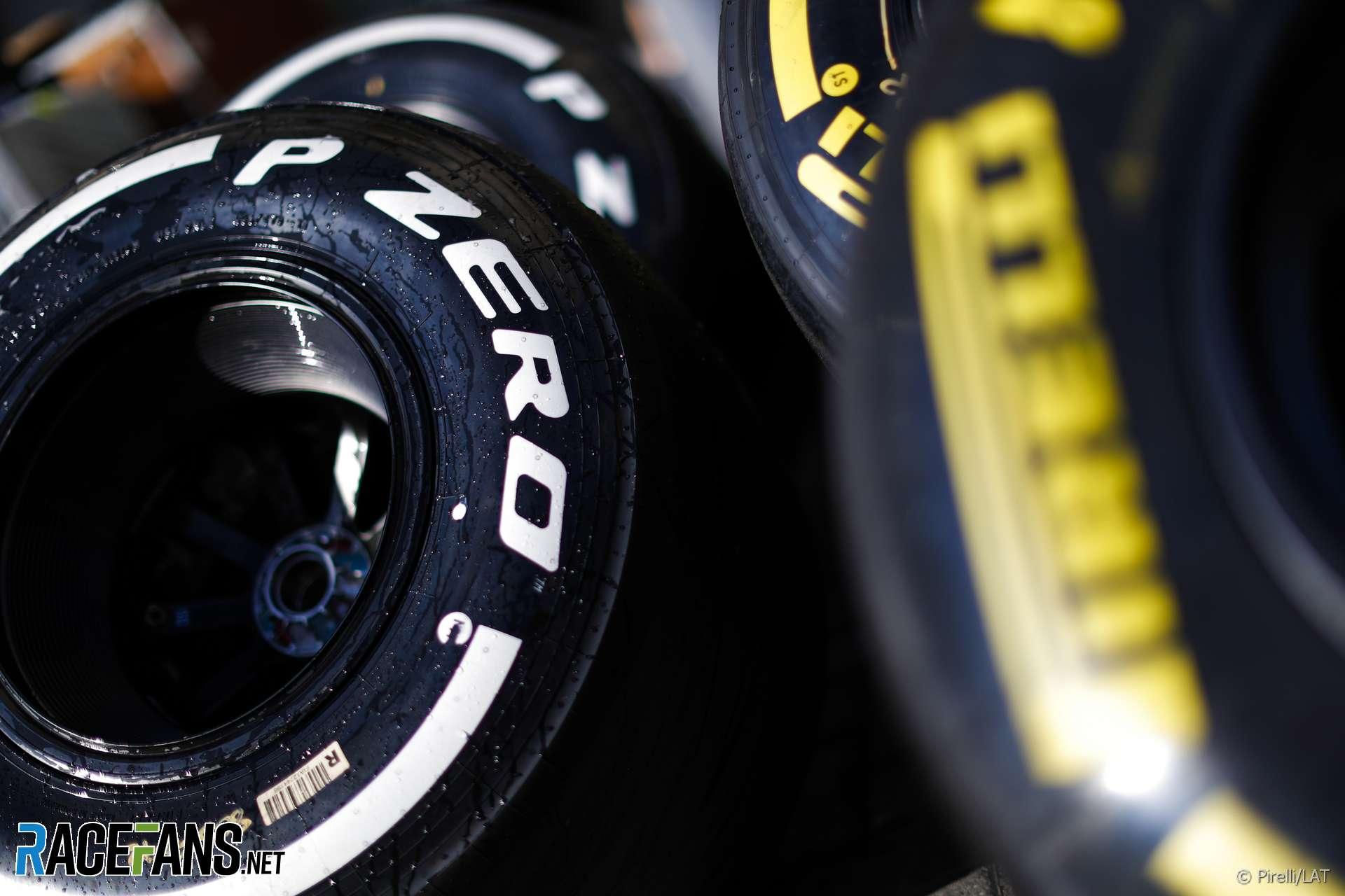 Tyres, Yas Marina, 2018