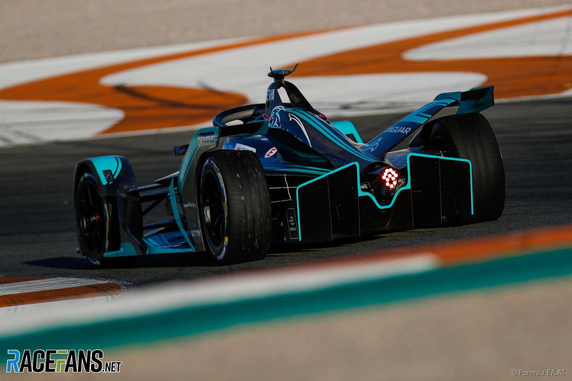 Mitch Evans, Jaguar, Formula E testing, Valencia, 2018