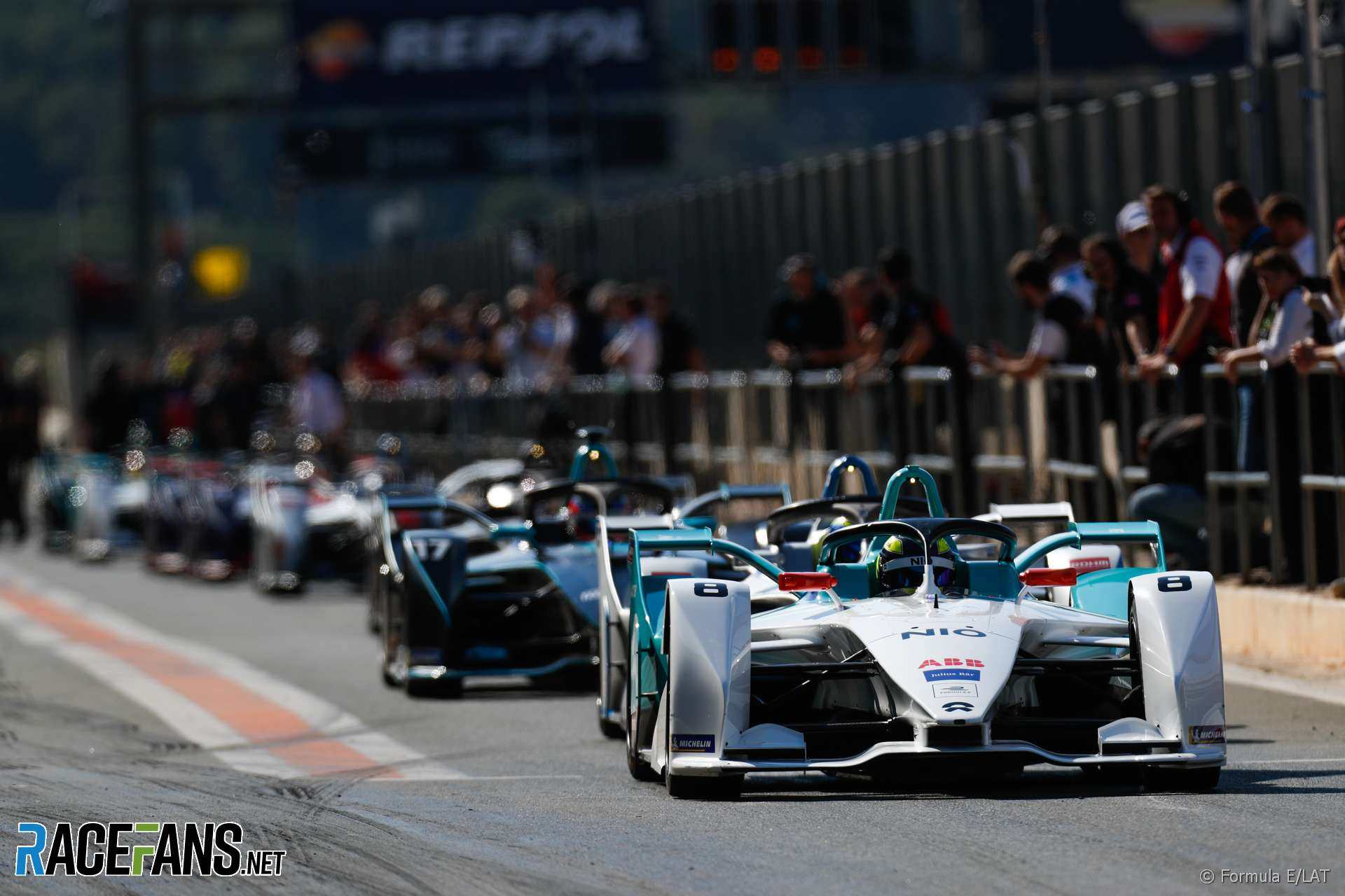 Tom Dillmann, NIO, Formula E testing, Valencia, 2018
