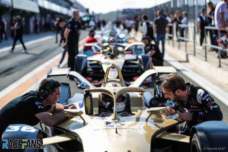 Jean-Eric Vergne, Techeetah, Formula E pre-season testing, Valencia, 2018