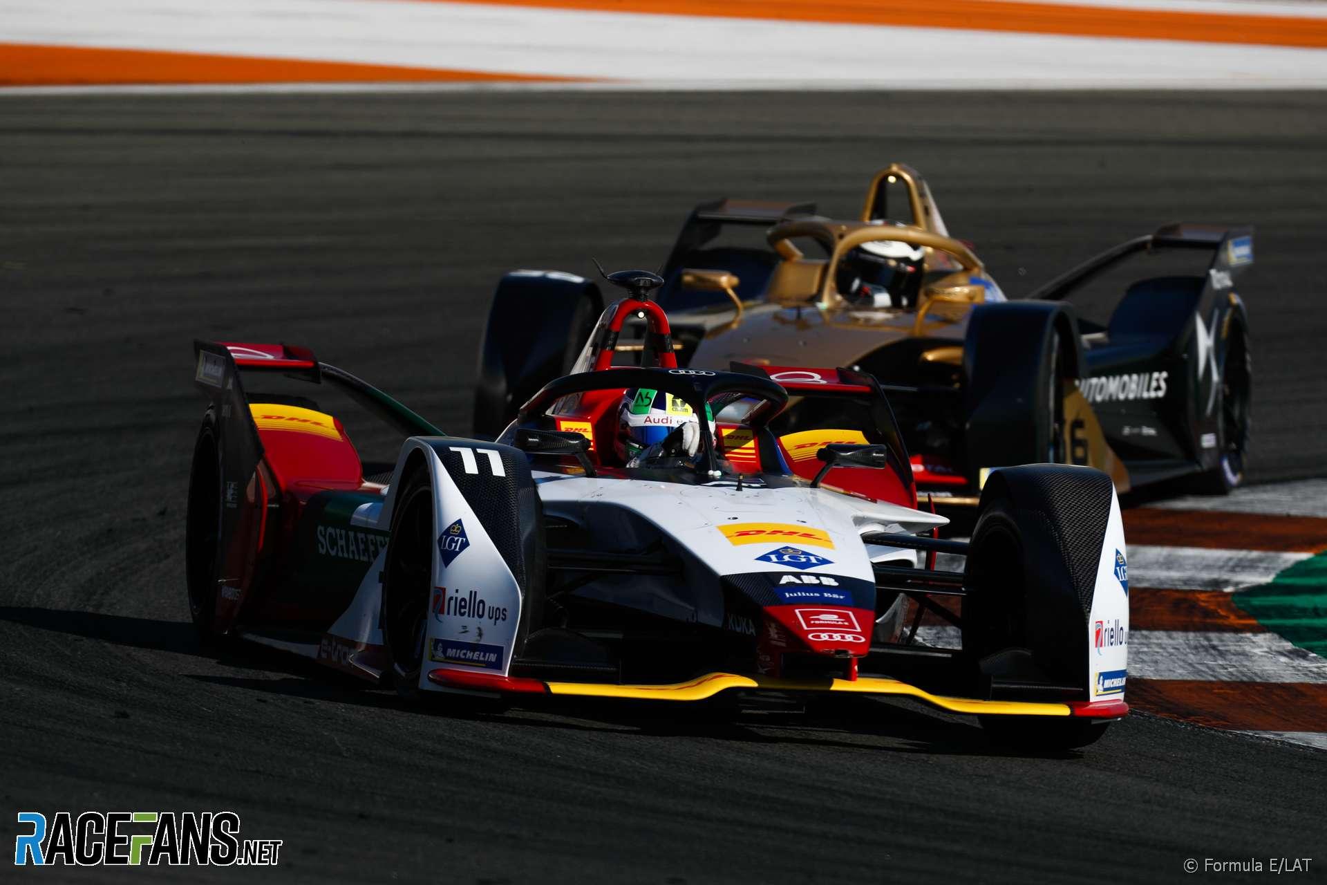 Lucas di Grassi, Audi, Formula E, Valencia pre-season testing, 2018