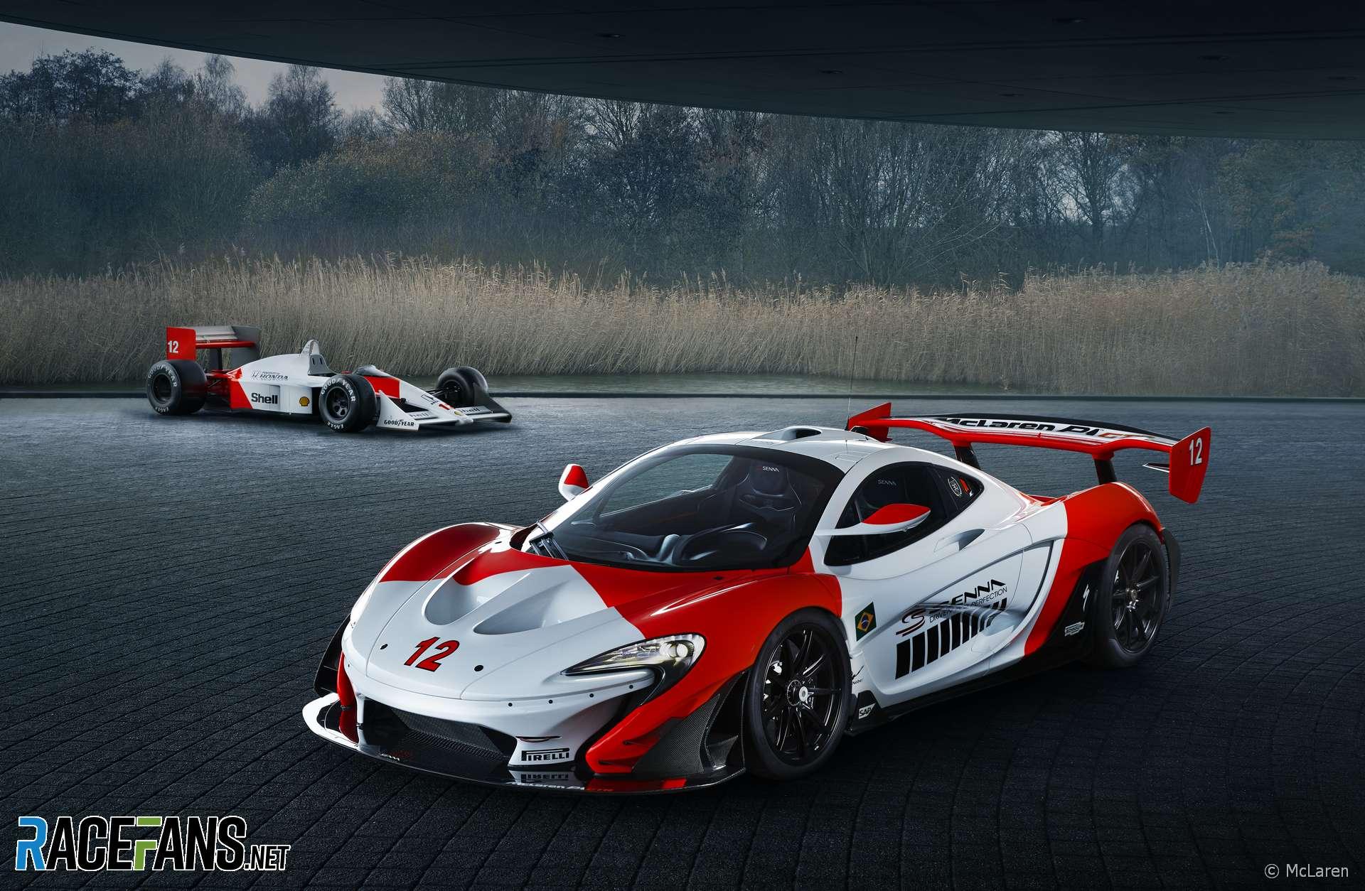 McLaren P1 GTR 'Beko'