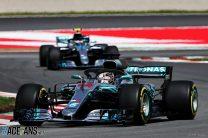 2018 team mates battles: Hamilton vs Bottas at Mercedes