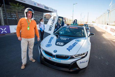 Dieter Rencken, Formula E hot lap, 2019