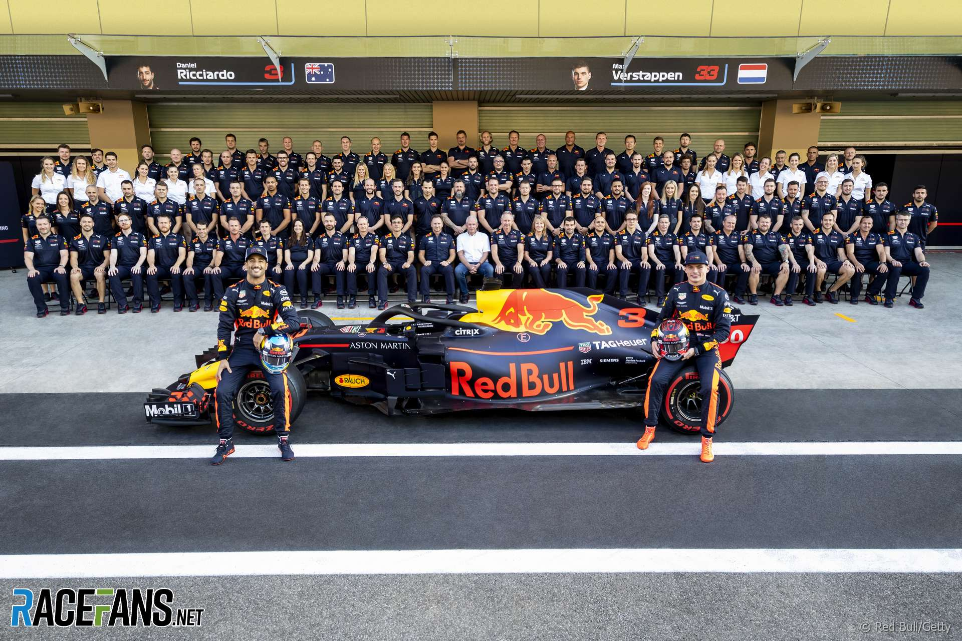 Red Bull F1 Team Information