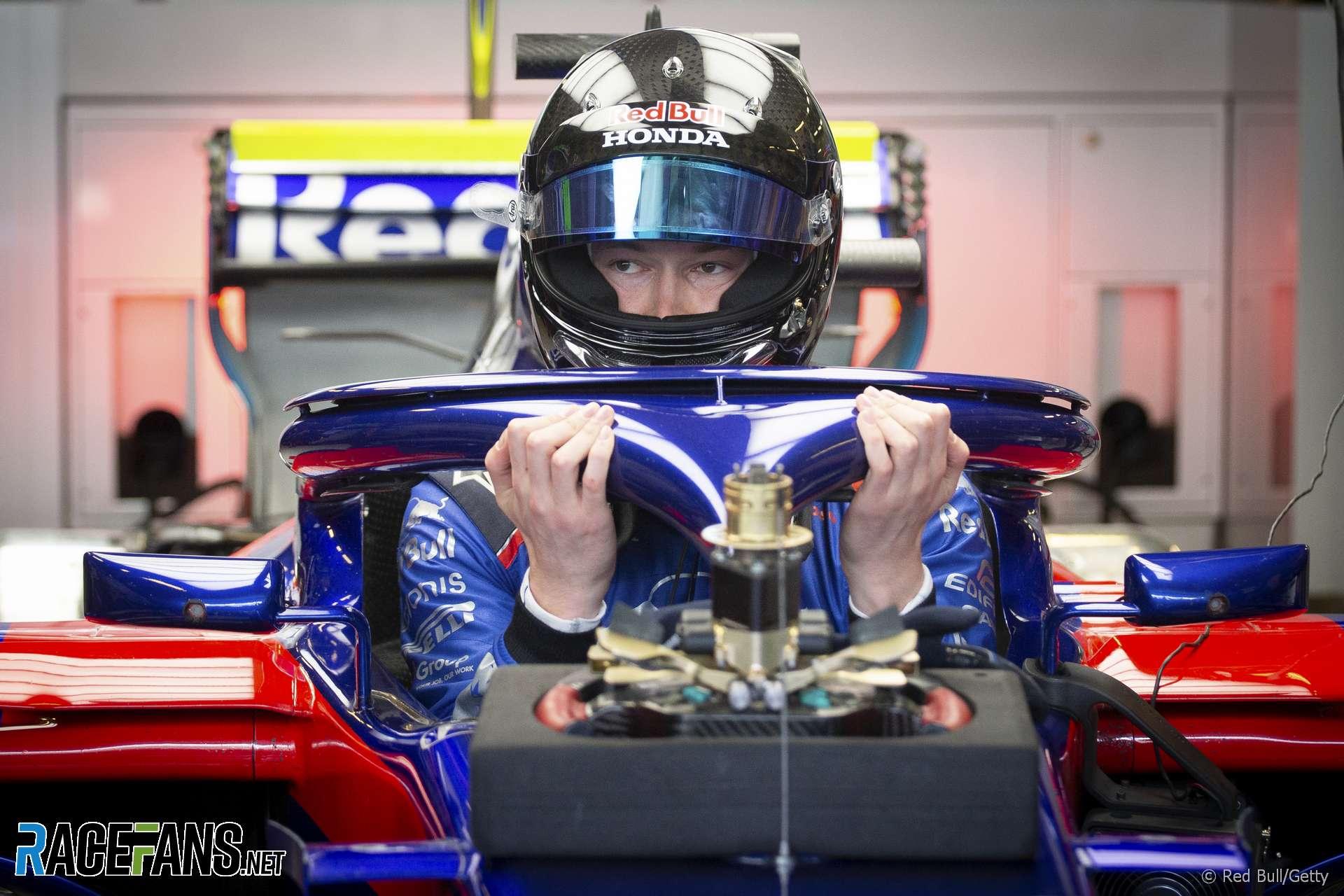 Daniil Kvyat, Toro Rosso, Yas Marina, 2018