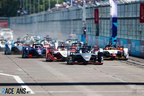 Start, Formula E, Santiago, 2019
