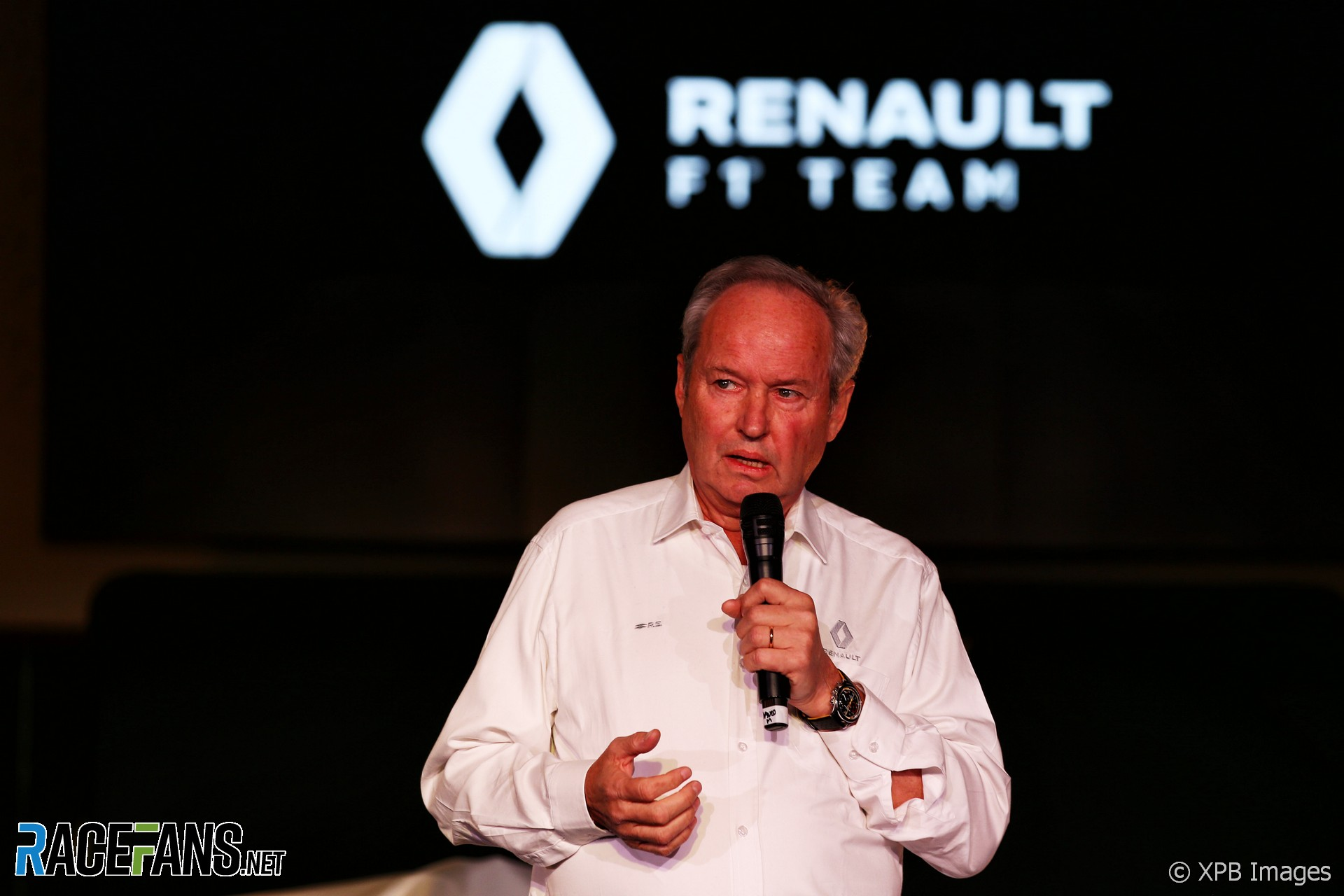 Jerome Stoll, Renault 2019 F1 livery launch