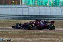 Kimi Raikkonen, Alfa Romeo, Fiorano, 2019