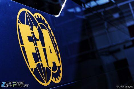 FIA, Circuit de Catalunya, 2019