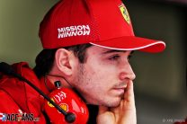How Leclerc is adjusting to the pressures of life at Ferrari