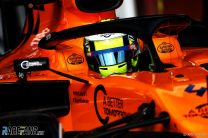 Lando Norris, McLaren, Circuit de Catalunya, 2019