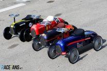 Retro toy F1 cars, Circuit de Catalunya, 2019