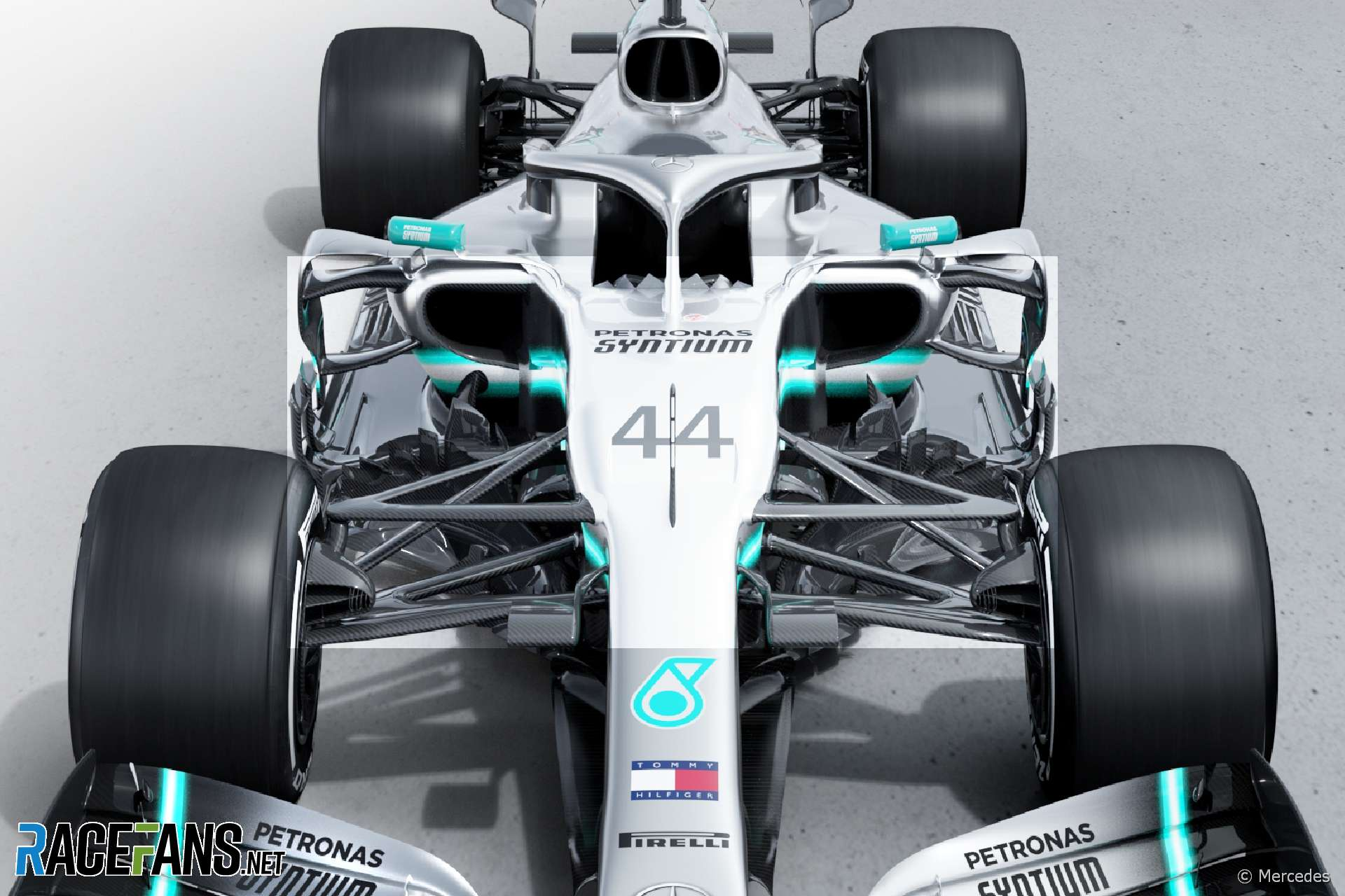 Mercedes reveal their 2019 challenger