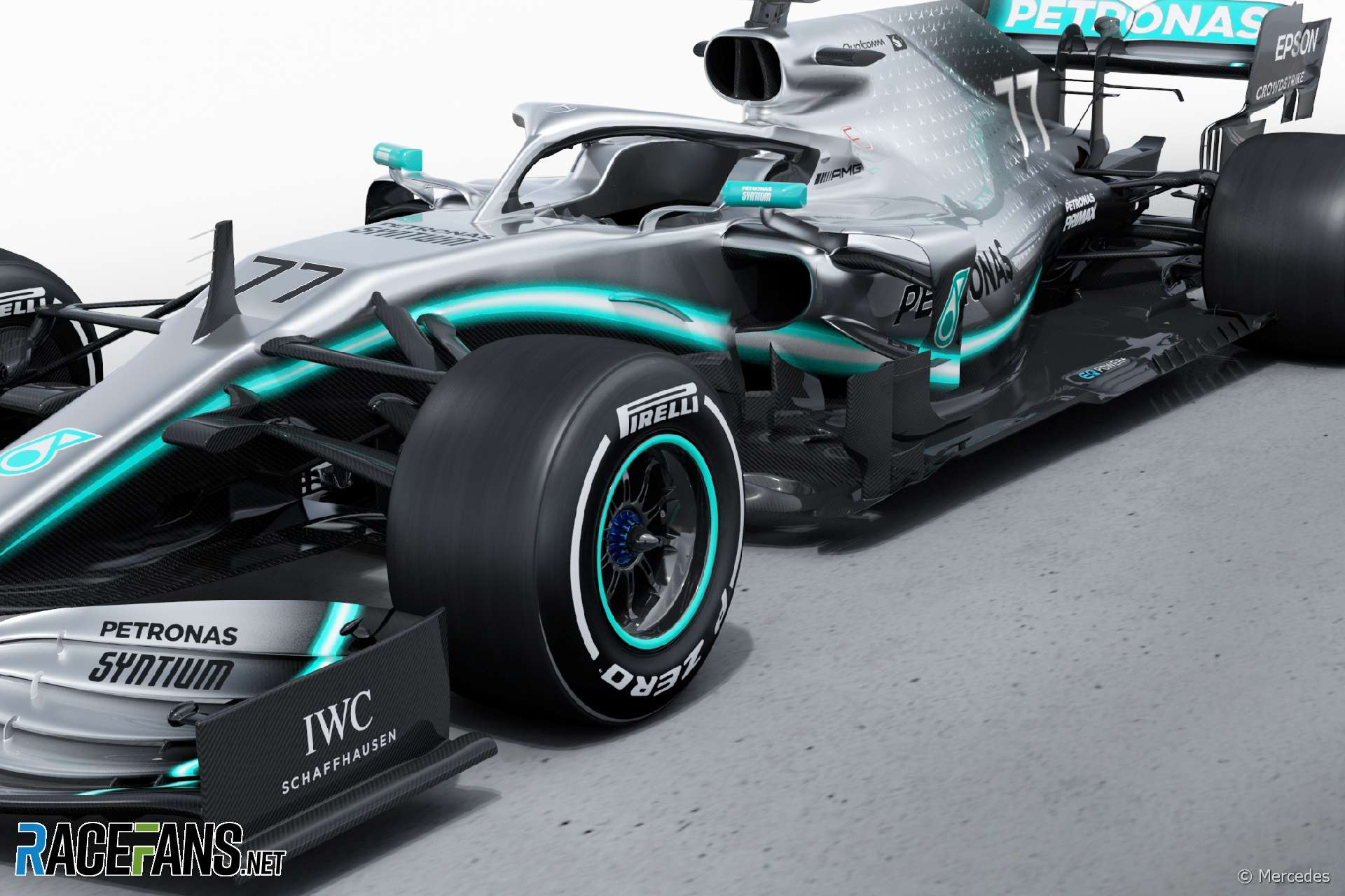 Mercedes unveil its 2019 F1 challenger, the W10