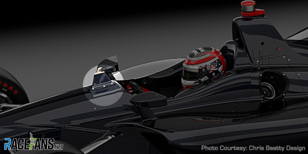 Ot Indycar Are Running Their Alternative To The Halo At Indy The