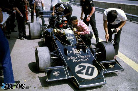 Emerson Fittipaldi, Lotus, Osterreichring, 1972