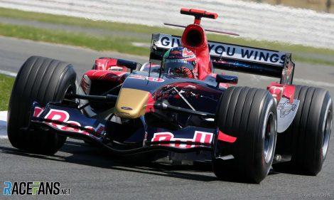Vitantonio Liuzzi, Toro Rosso, Silverstone, 2006