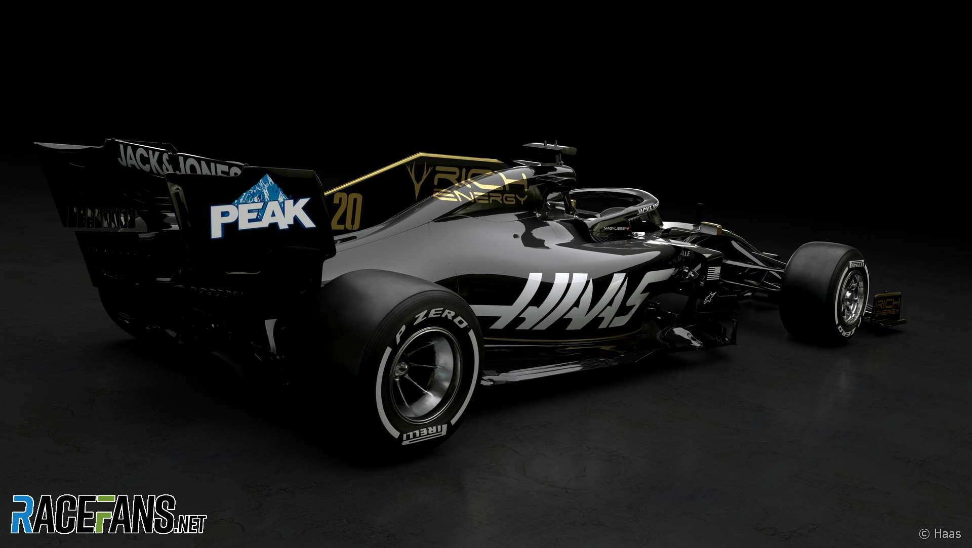 Haas VF-19 rendering, 2019