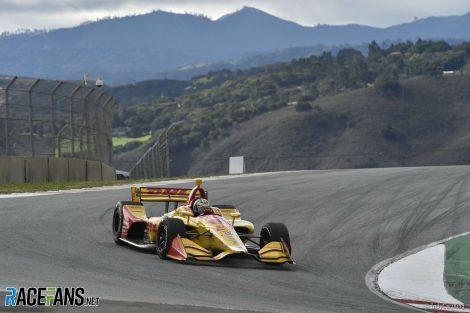 Ryan Hunter-Reay, Andretti, IndyCar testing, Laguna Seca, 2019