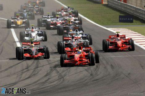 Start, Bahrain, 2007