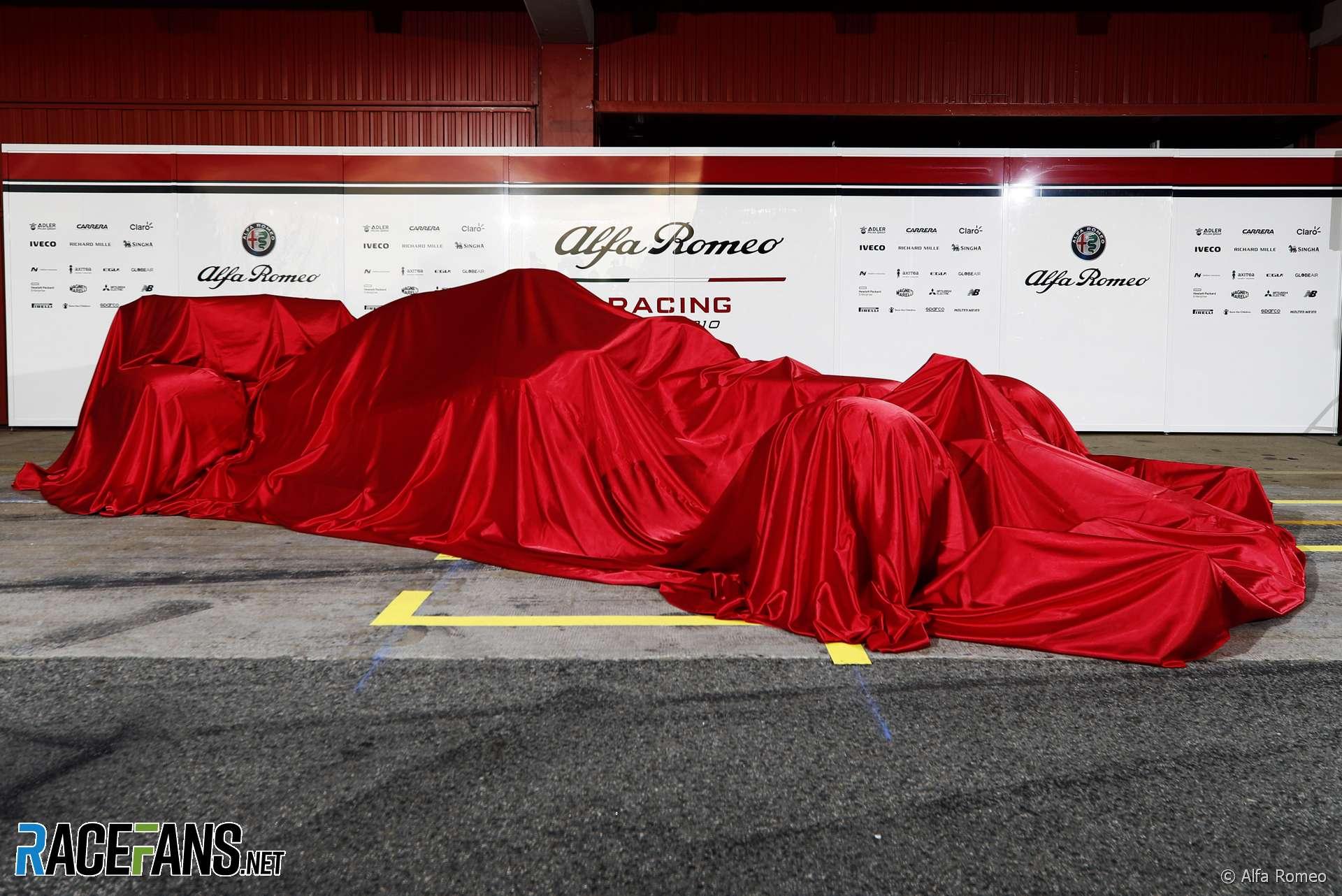 Alfa Romeo C38 launch, 2019