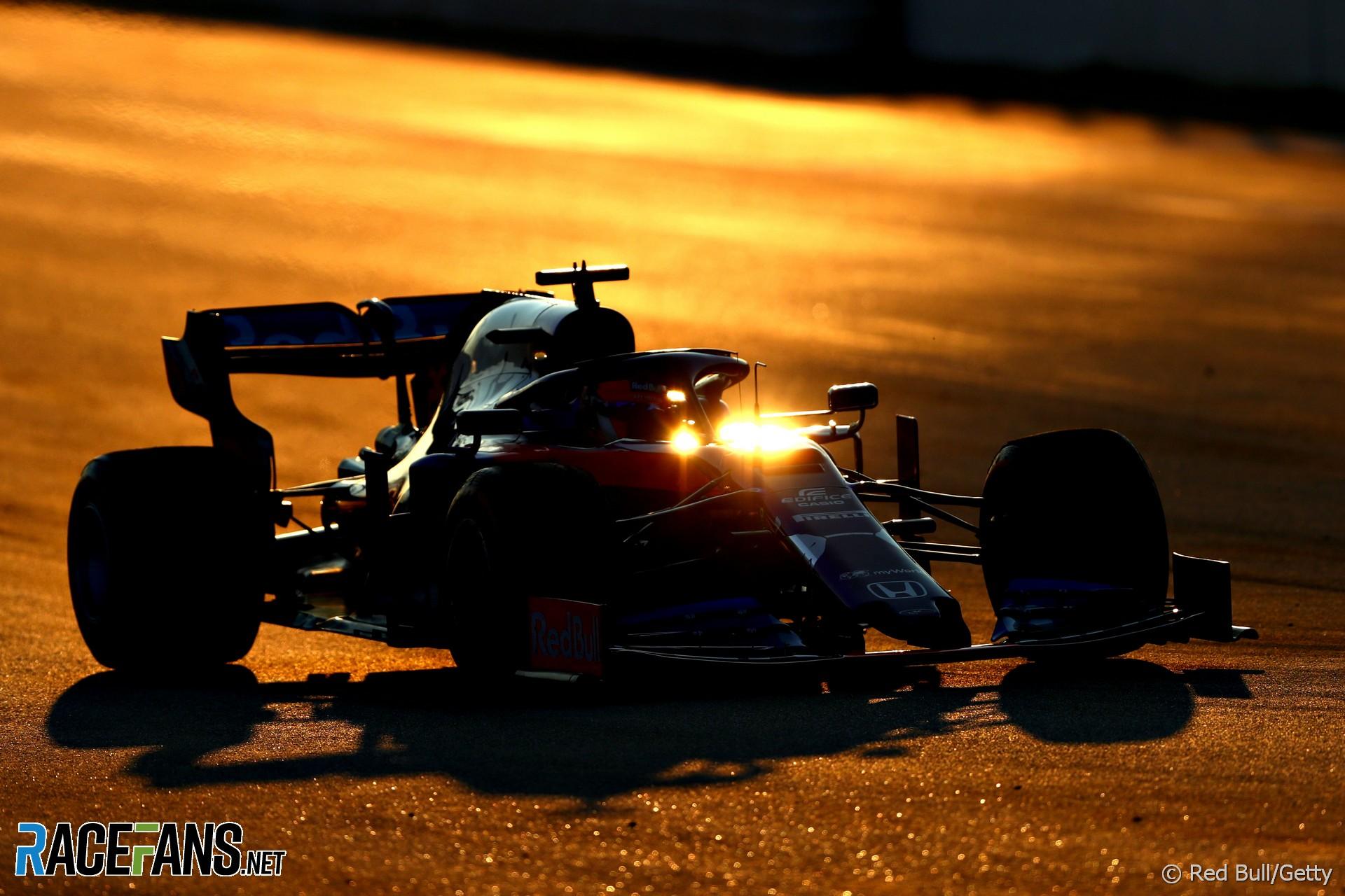 Daniil Kvyat, Toro Rosso, Circuit de Catalunya, 2019