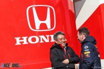 Toyoharu Tanabe, Christian Horner, Red Bull-Honda, Circuit de Catalunya, 2019