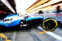 George Russell, Williams, Circuit de Catalunya, 2019