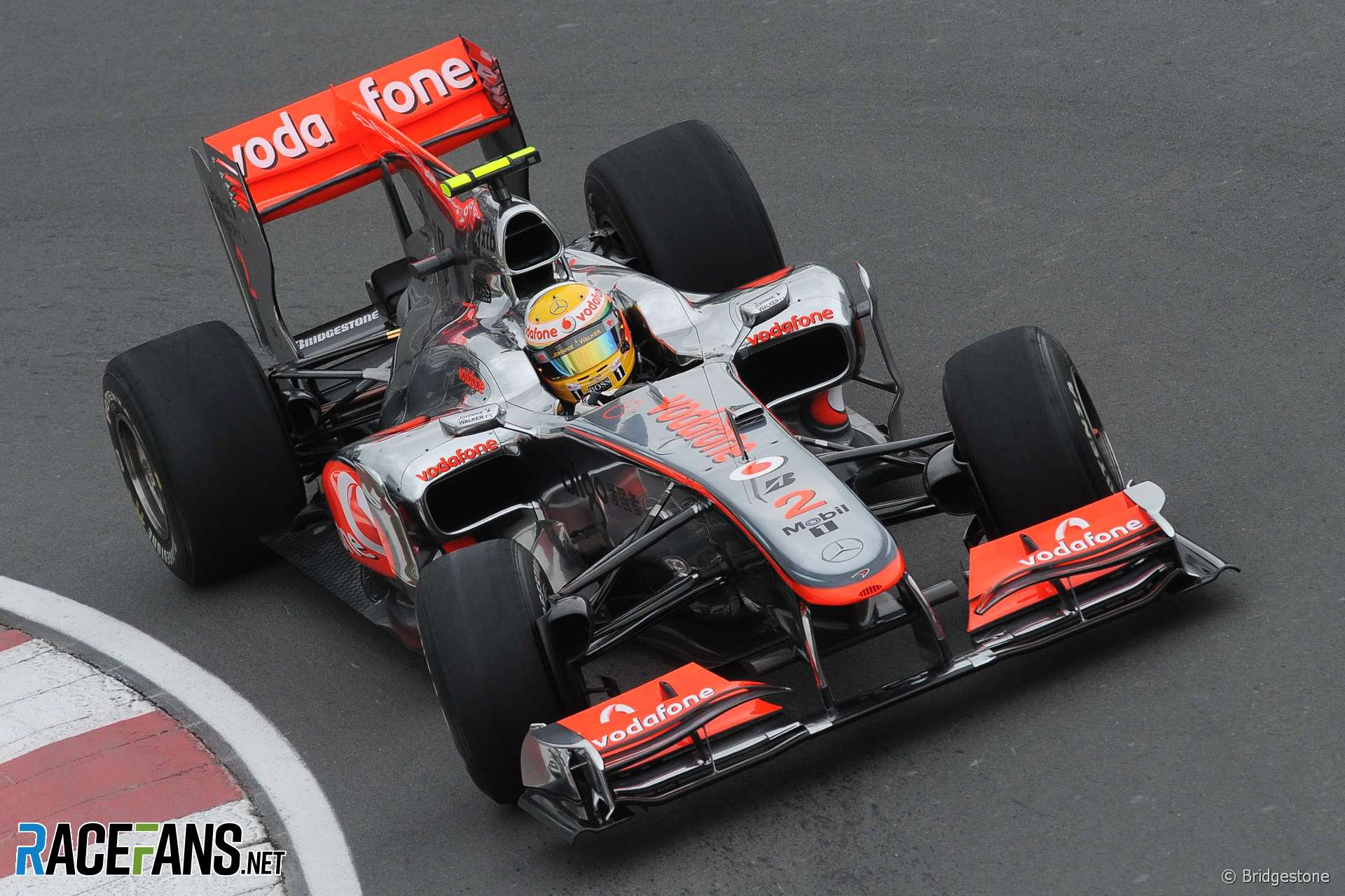 Lewis Hamilton, McLaren, Circuito Gilles Villeneuve, 2010