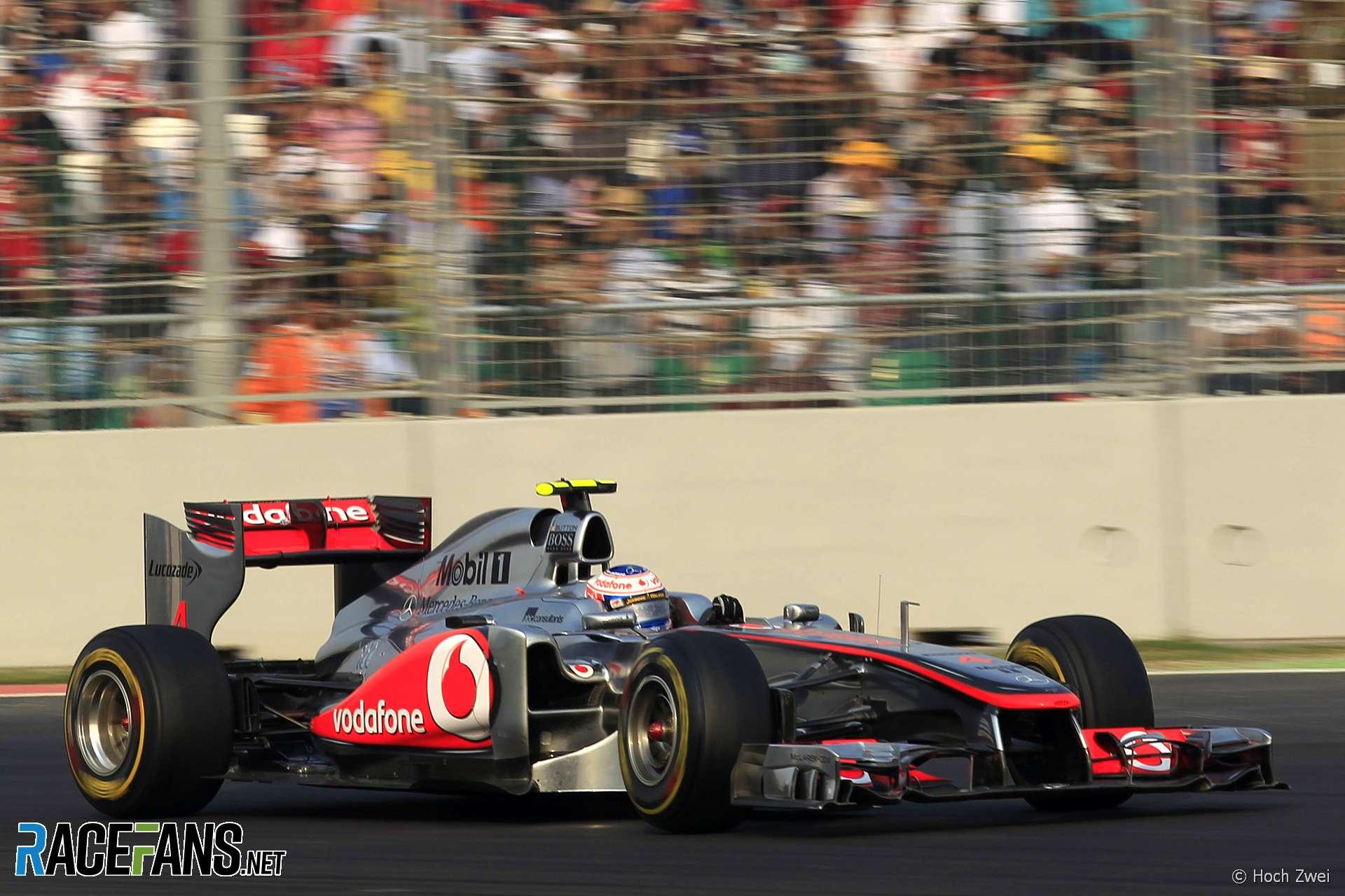 Jenson Button, McLaren, Circuito Internacional Buddh, 2011