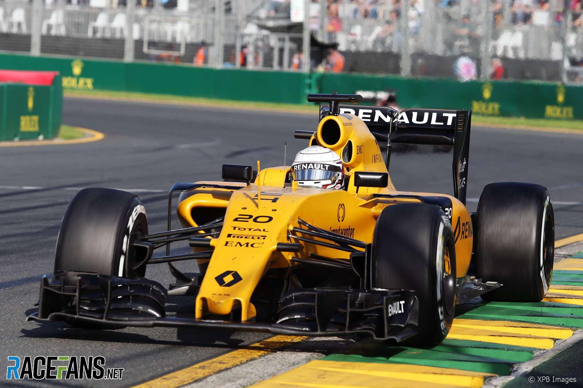 Kevin Magnussen, Renault, Melbourne, 2016