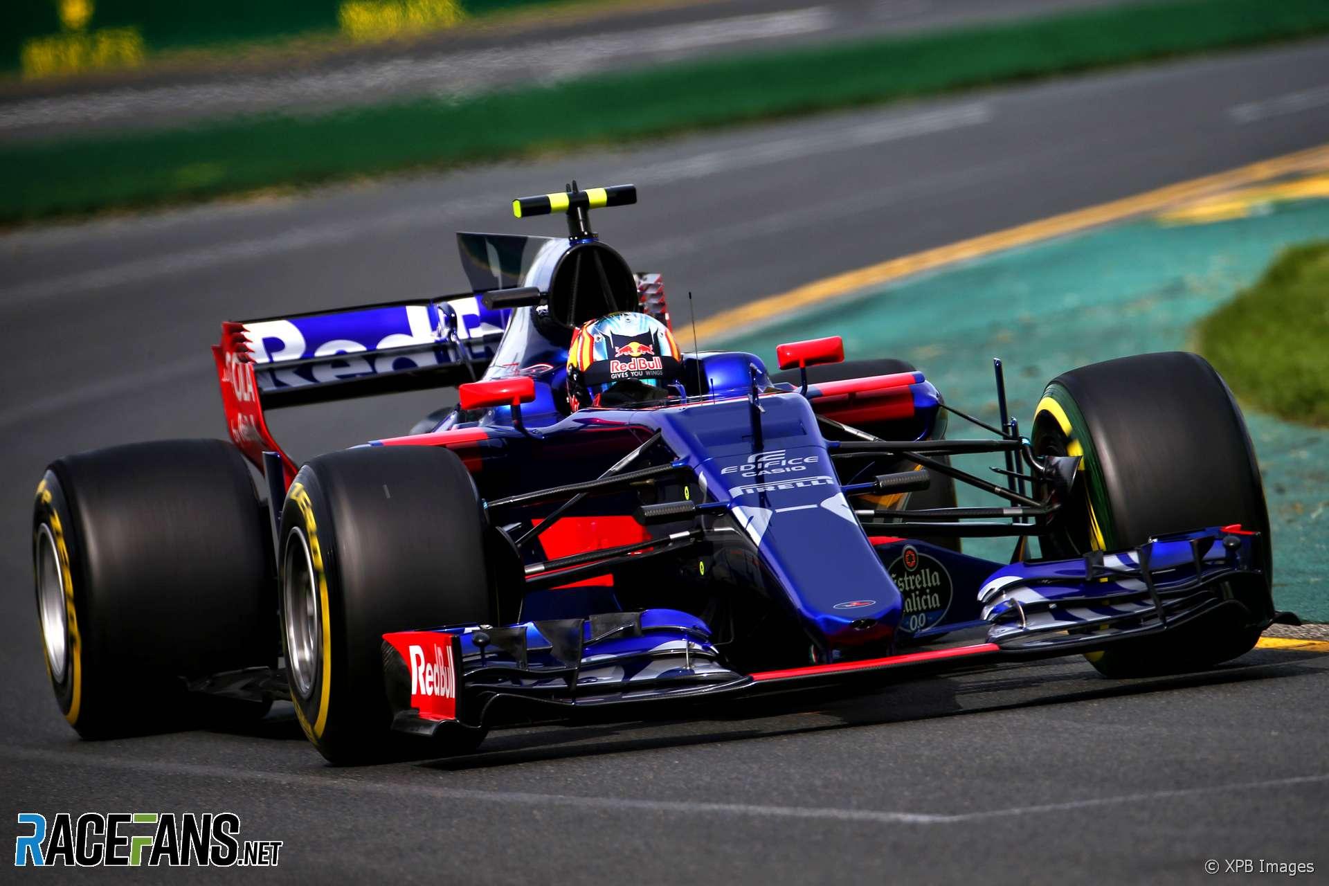 Carlos Sainz Jr., Toro Rosso, Melbourne, 2017