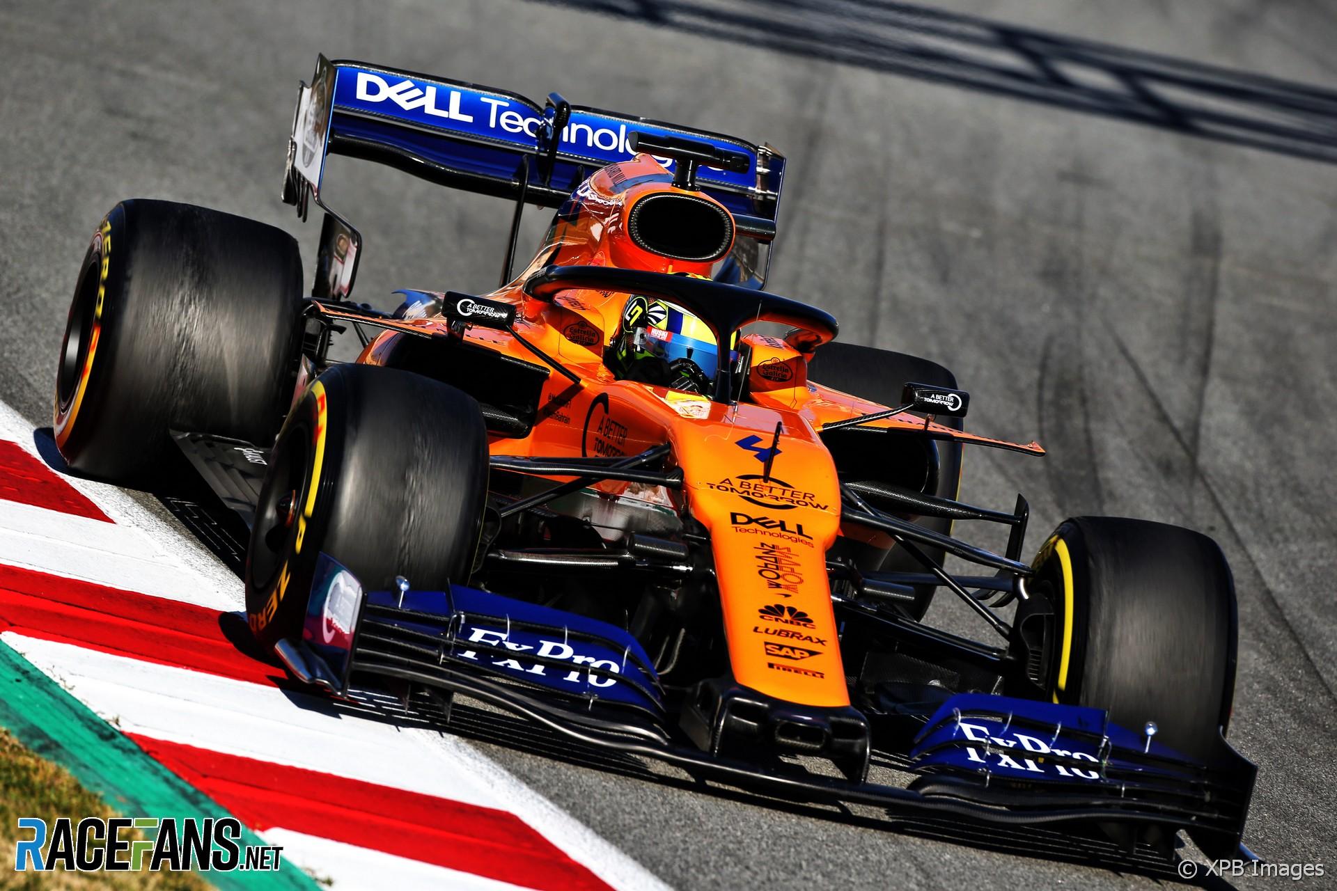 Norris Fastest For Mclaren As Mercedes Reveal Upgraded Car Racefans
