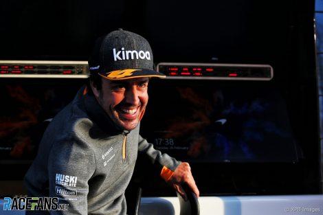 Fernando Alonso, McLaren, Circuit de Catalunya, 2019