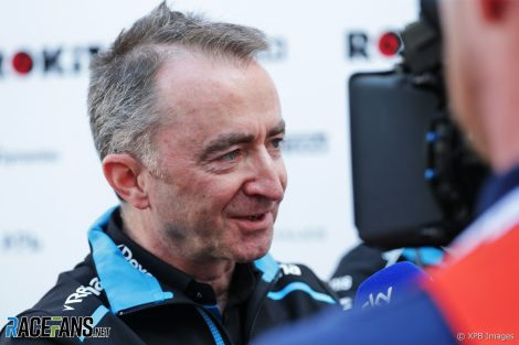 Paddy Lowe, Circuit de Catalunya, 2019