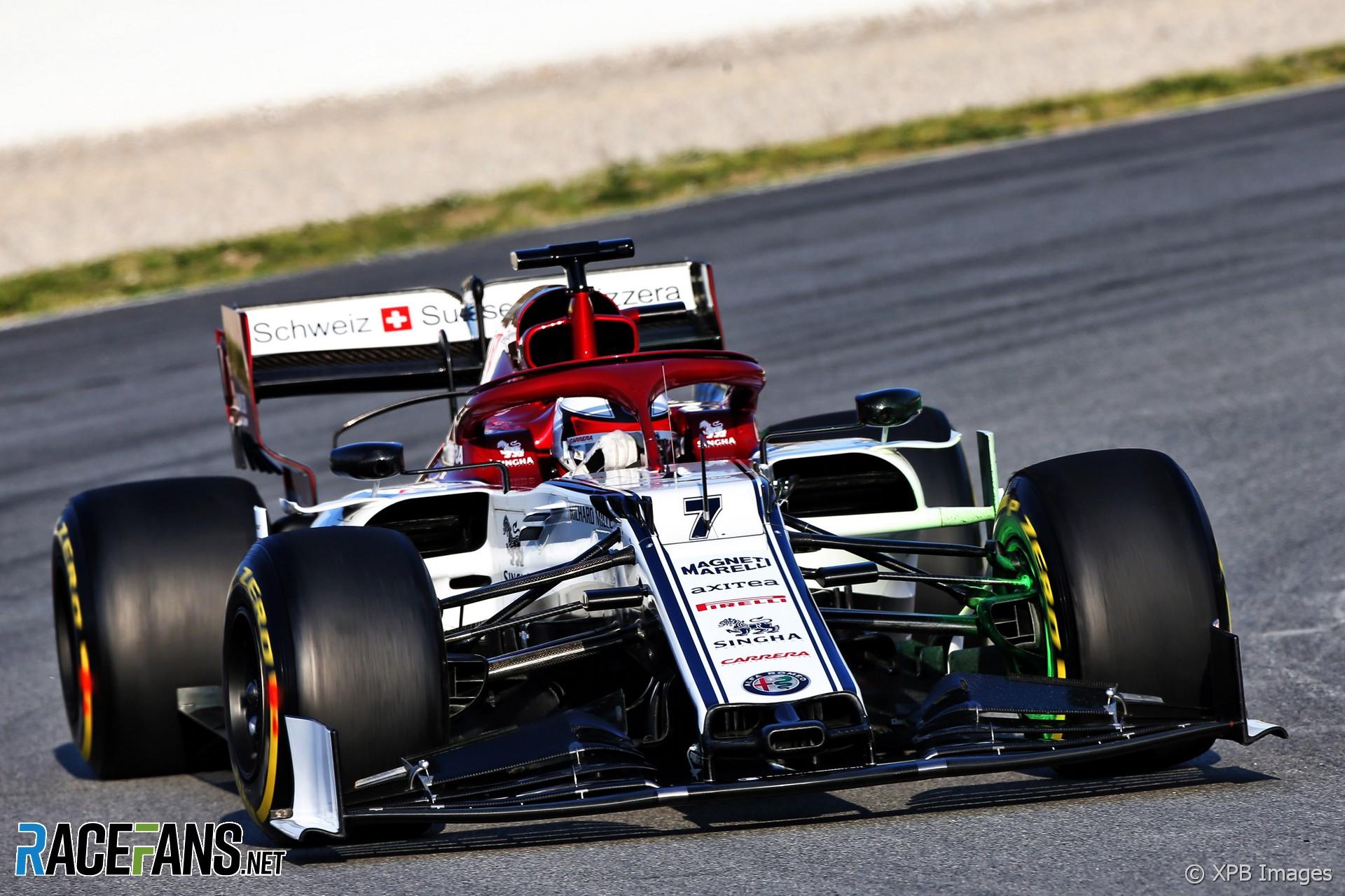 Kimi Raikkonen, Alfa Romeo, Circuit de Catalunya, 2019 ...