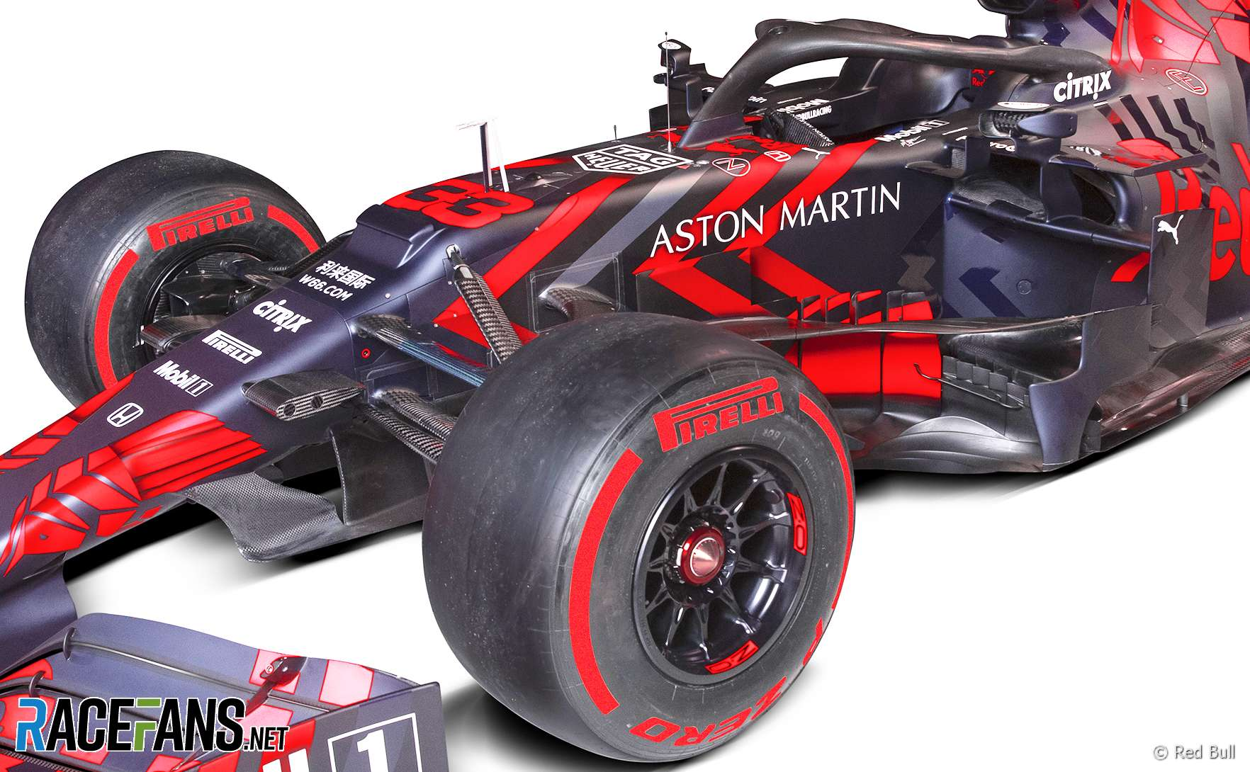Red Bull unveils its first Honda-powered F1 auto