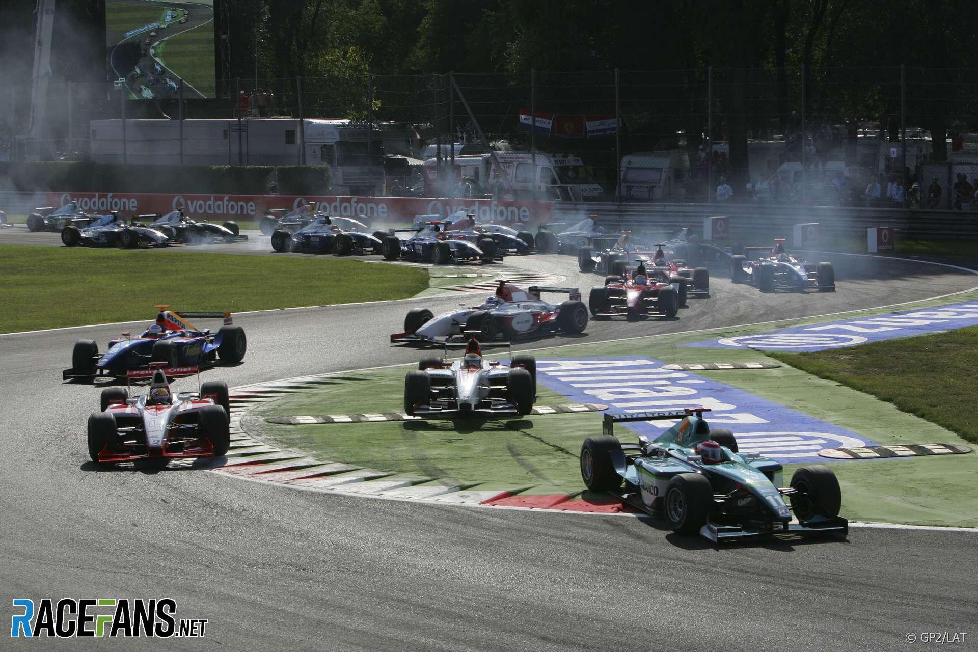 Start, GP2, Monza, 2006