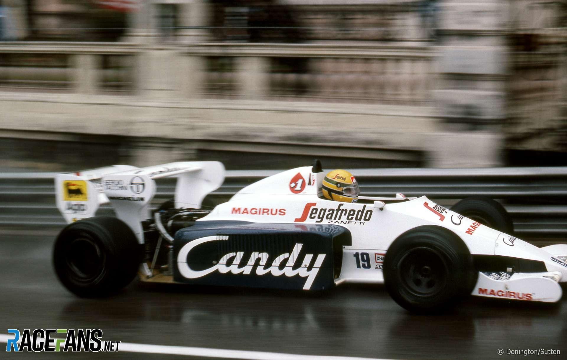 Ayrton Senna, Toleman, Monaco Grand Prix, Monte-Carlo, 1984