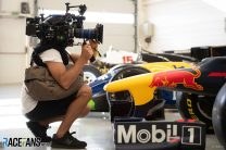 Netflix crews filming McLaren and Red Bull at Austrian Grand Prix