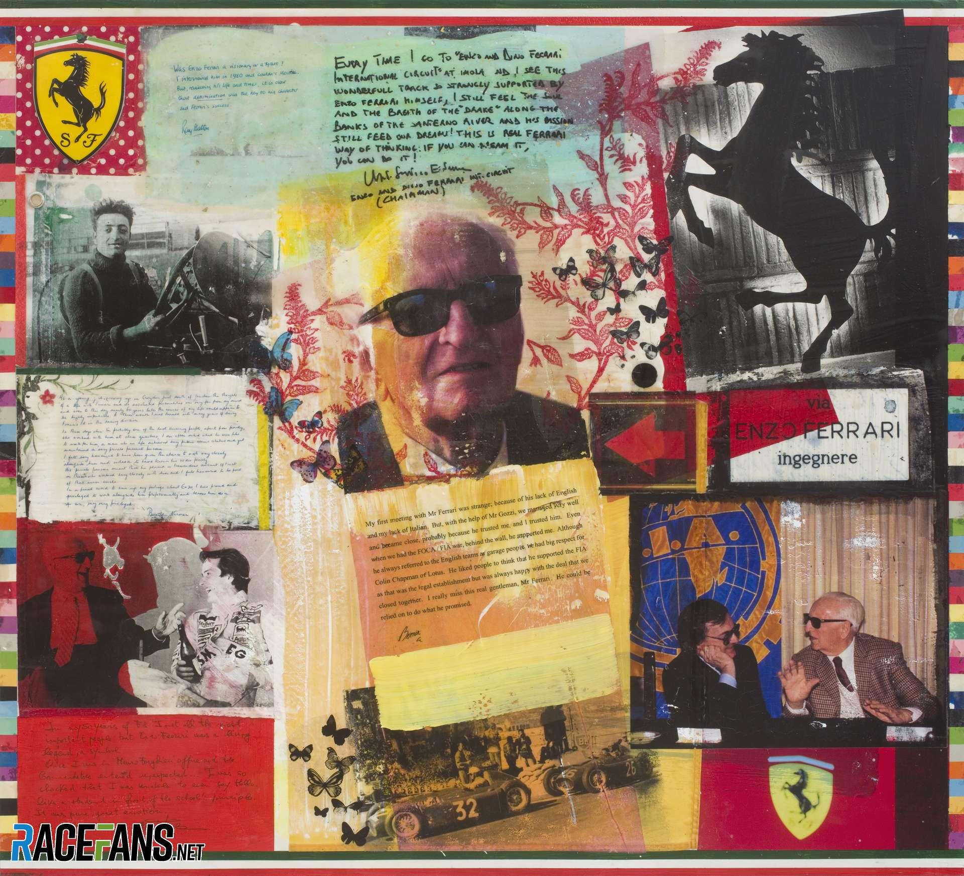 Ferrari in Art - The Sporting Legacy