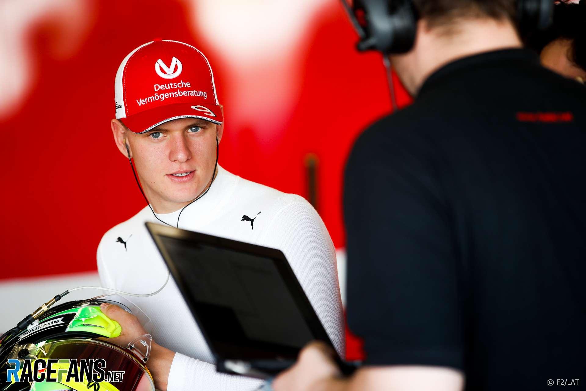 Mick Schumacher, Prema, Formula 2, 2019 · RaceFans