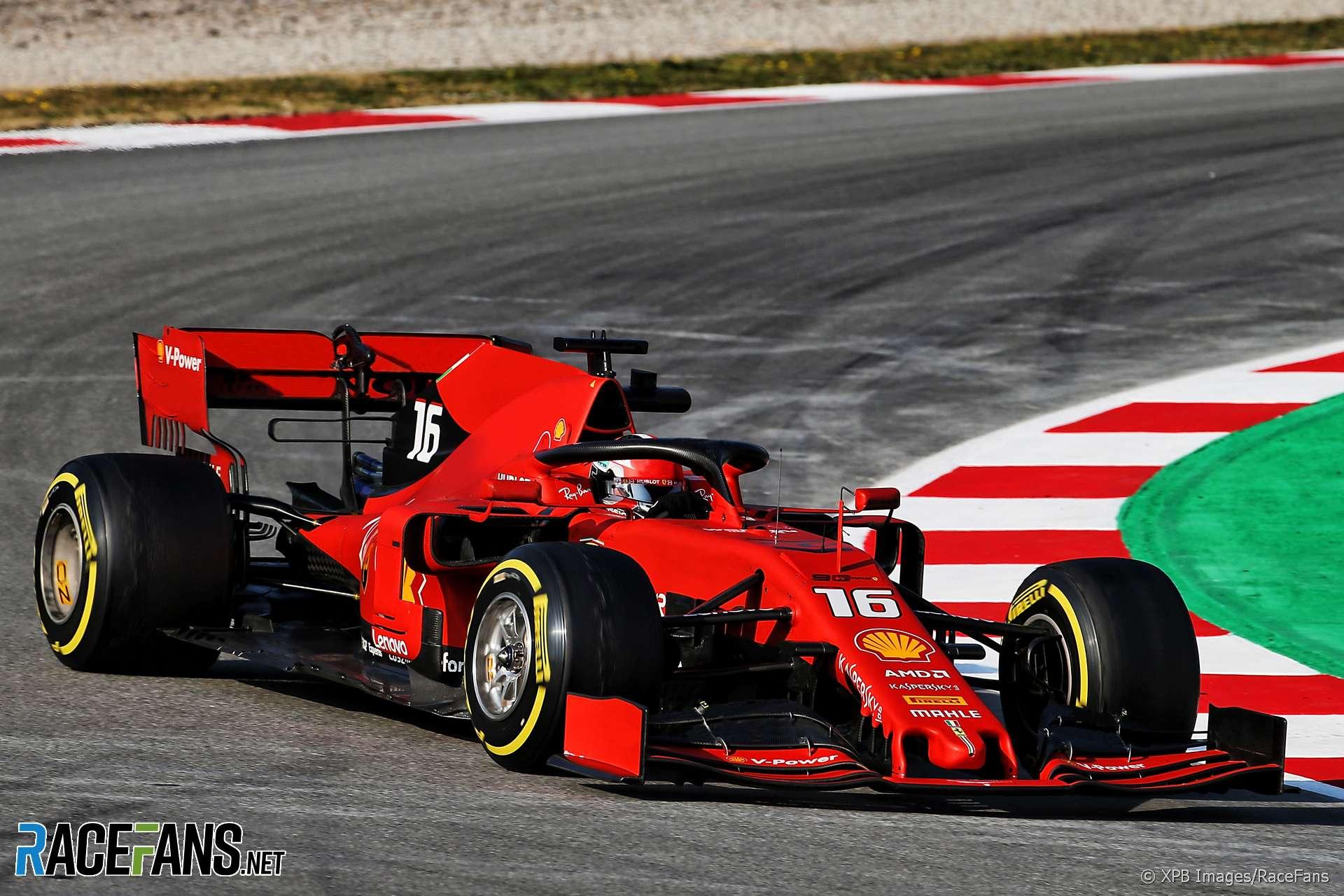 Ferrari F1 Logo 2019