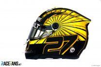 Nico Hulkenberg helmet, 2019