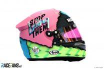 Daniel Ricciardo helmet, 2019