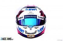 Sergio Perez helmet, 2019