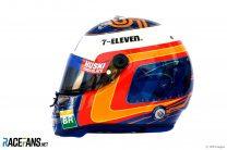 Carlos Sainz Jnr helmet, 2019