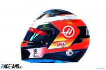 Romain Grosjean helmet, 2019